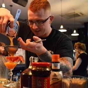 Bartender is ginger